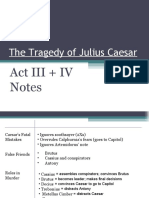 Act III & IV Notes