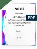 Desain Certificate Template Free Download 21