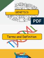 Week 8 Genetics