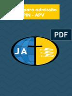 Apostila Para Admissão PIN -APV