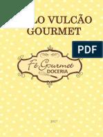 APOSTILA BOLO VULCÃO GOURMET