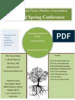 NEPSA Conference Flyer 2011