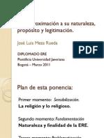 ERE Diplomado PUJ2011