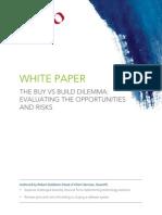 Quantifi Whitepaper -The Buy-Vs-Build Dilemma
