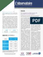 Observatoire de la petite entreprise n° 80 FCGA - Banque Populaire