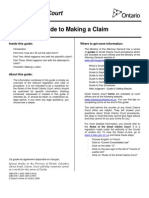 Guide To Making A Claim