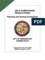 Bridgeport Connecticut New Zoning Regulations 2010