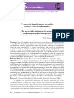 AFFONSO, Estatuto da formalização