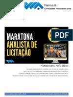 PDF Aula 1 Maratona do Analista de Licitacao