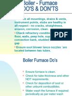 2 Do's & Dont's Furnace,motors,