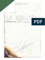 LA DERELITTA - Pietro Fichera -