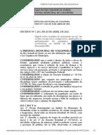 Decreto Municipal 1.263