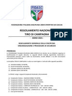 1 - Regolamento TIRO DI CAMPAGNA - 2021