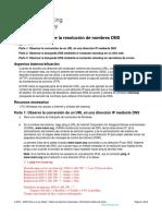 15.4.8 Lab Observe DNS Resolution Es XL