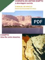 História e Geografia Do Egipto