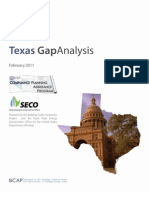 Texas Gap Analysis Final