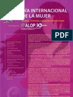 Boletin Alop sobre la  Mujer 2011.