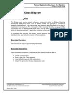 Exercise Class Diagram