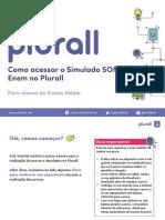 Tutorial - Como acessar seu simulado SOMOS no Plurall