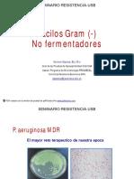 9. Bacilos Gram (-) NF