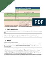 Análisis de lectura # 3 unidad 2 Sergio Calderon