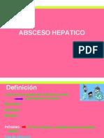ABSCESO HEPATICO