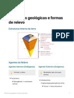 Estruturas geolgicas