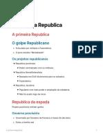 A_primeira_Republica