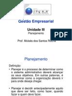 Microsoft PowerPoint - GestEmpres3 Planejamento