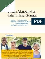 Peran Akupunktur pada geriatri(1)