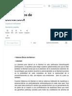 Valores Éticos de Bolívar.docx _ Esclavitud _ Venezuela