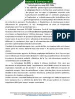 Fr-RSS Technologie Comparaison Des Techniques d Exploration Complete FANDS LLC.docx