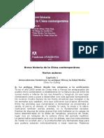 Breve Historia de La China Contemporánea - Varios Autores
