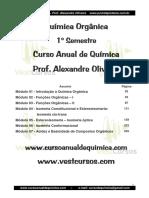 Apostila - Química Orgânica - 1º Semestre