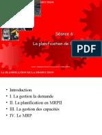 S6- La planification Industrielle