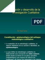 Enfoque + Cualitativo. Prof. Miguel Fuentes