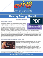 Revive Energy Mint Franchisee and Distributor Newsletter