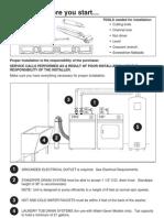 Maytag Washer Installation Manual