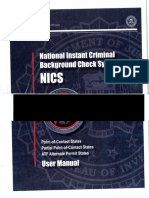 FBI National Instant Criminal Background Check System (NICS) User Manual UNREDACTED.pdf