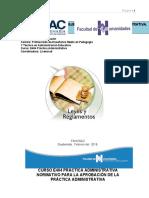 Practica Administrativa normativo y programa