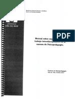 Manual sobre experiencias en lo interdisciplinario Carrera Psicopedagogía2
