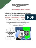 31 997320837 TENHO PRONTO Rede de Mini Mercados Luza SA