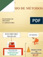 CAP.5  ESTUDIO DE MÉTODOS