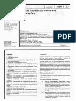 ABNT-NBR-6123-1988 - Forças Devido ao Vento em Edificações