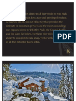 Kadenwood Whistler British Columbia
