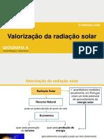 A Valorização Da Radiação Solar IV 20-21