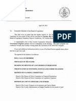 Jefferson County Board of Legislators agenda May 4, 2021