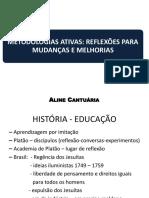 Metodologias Ativas_Reflexões para mudanças e melhorias