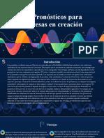 2.6 Pronostico para empresas en creacion