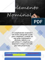 Complemento Nominal 345090
